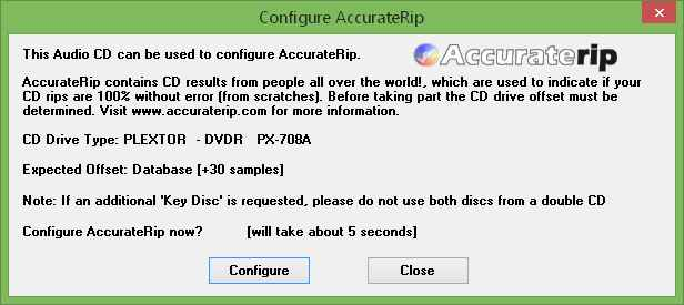 accuraterip database search